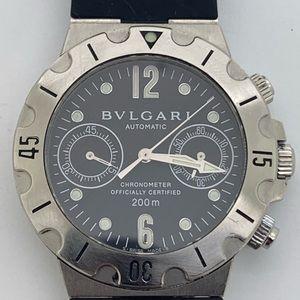 Bvlgari Scuba Chronograph Automatic Man Watch 38mm